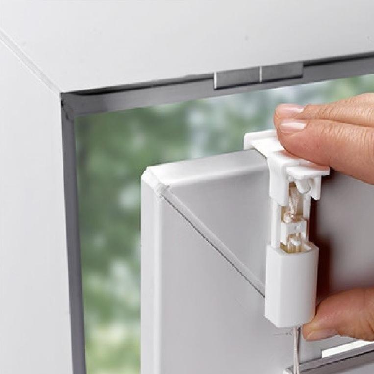 Plissee ast muster zweige sichtschutz klemmfix ohne bohren for Easyfix behang